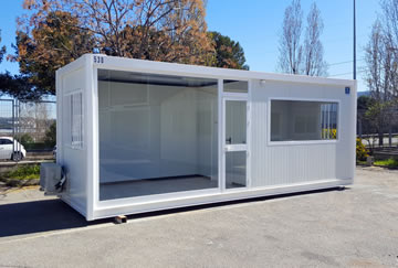 Modulos prefabricados oficinas modulares modulos for Oficina prefabricada